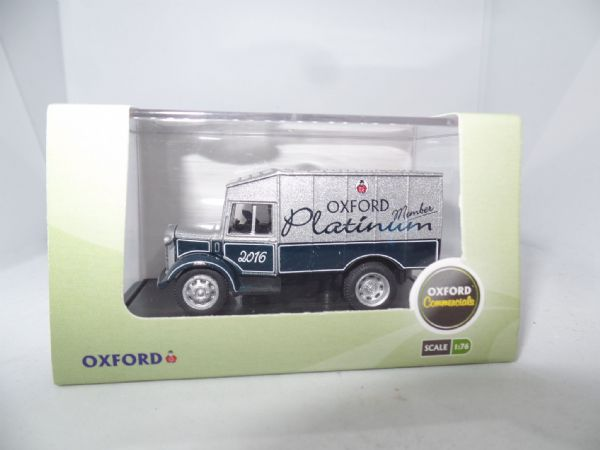 Oxford 76SP011 SP110 1/76 OO Scale Austin ATV Towing Vehicle ATV Platinum 2016